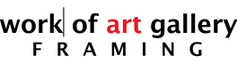 Work of Art Gallery & Framing Retina Logo